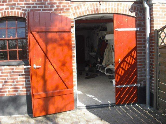 Åbent dobbeltdør